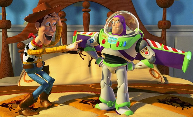 "Woody and Buzz in the original ""Toy Story"""