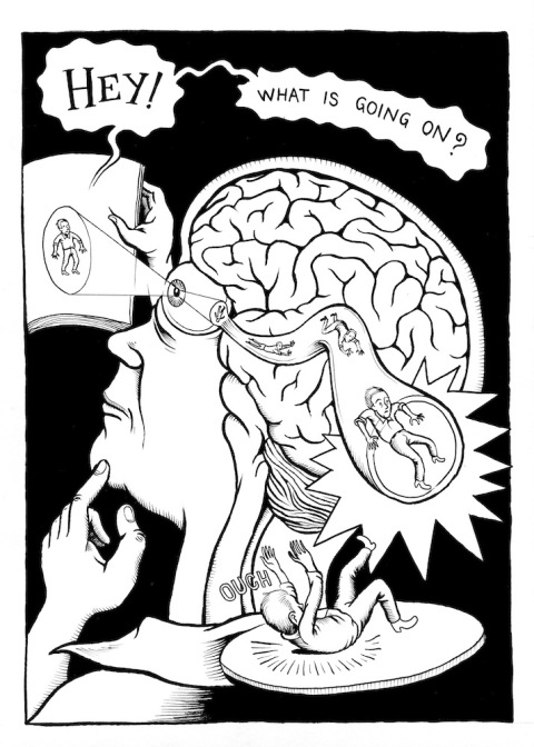 Page from 'Neurocomic,' a graphic novel about how the brain works. Click image for more.